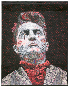 Mr. Grim, 2012: Juried Exhibit, Schweinfurth Art Center, Quilts=Art=Quilts, 2013; Best Portrait, Vermont Quilt Festival, 2012